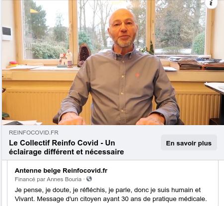 16 février 21: informez-vous sur l'ANTENNE BELGE de réinfocovid France !