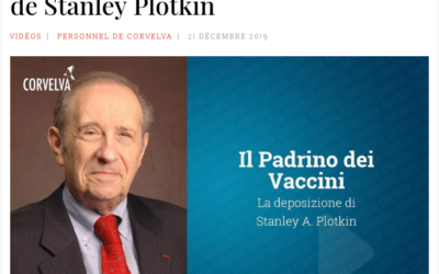 TEMOIGNAGNE essentiel sur les vaccins par le Dr Plotkin, vaccinologue réputé