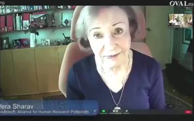 HOLOCAUSTE MONDIAL ? Entretien de Vera Sherav avec R. Fuellmich, avocat allemand – RETRANSCRIPTION